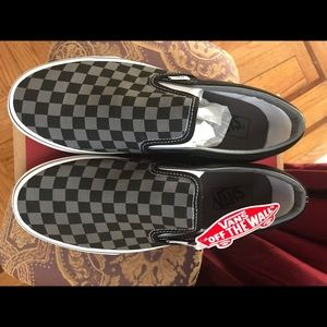 Vans Slip On Checkerboard black/pewter